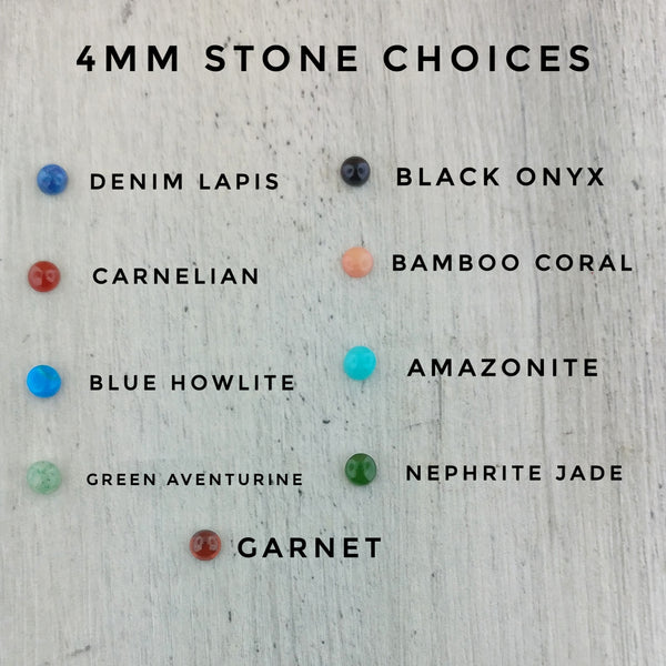 Stone color choices for eyes