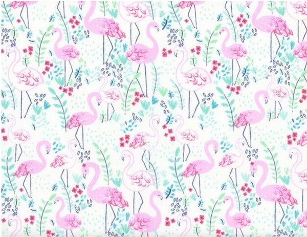 Flamingos Reversible Fabric Face Mask