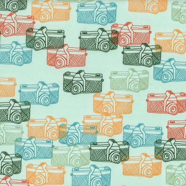 Vintage Cameras Fabric Face Mask