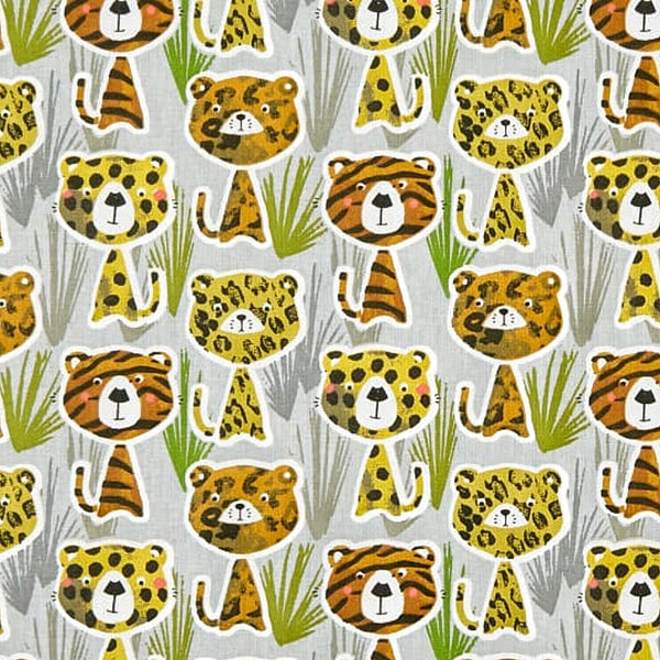 Lions & Tigers & Leopards Fabric Face Mask