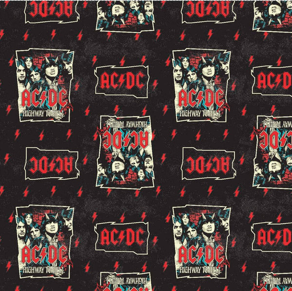 AC/DC Fabric Face Mask