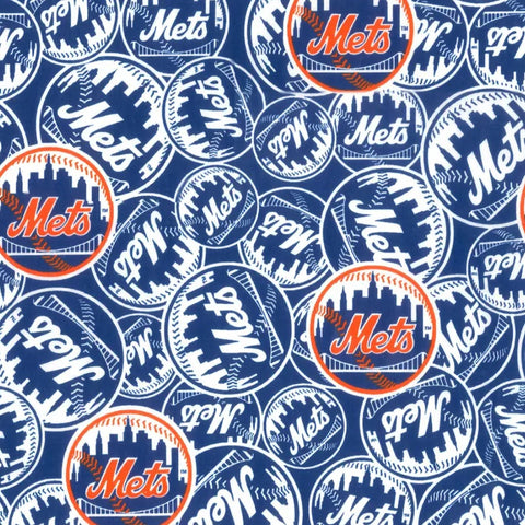 New York Mets Fabric Face Mask