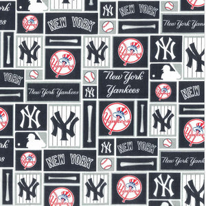 New York Yankees Fabric Face Mask