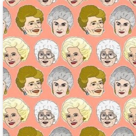 Golden Girls Fabric Face Mask