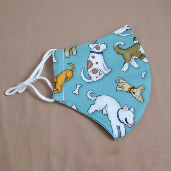Dogs Fabric Face Mask