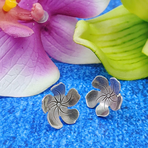 sterling silver studs perfect for tiki jewelry