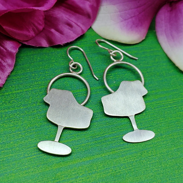 Tulip chair earrings