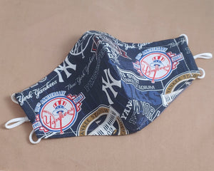 New York Yankees Stadium Fabric Face Mask