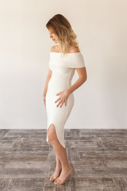 ADELE DRESS | WHITE