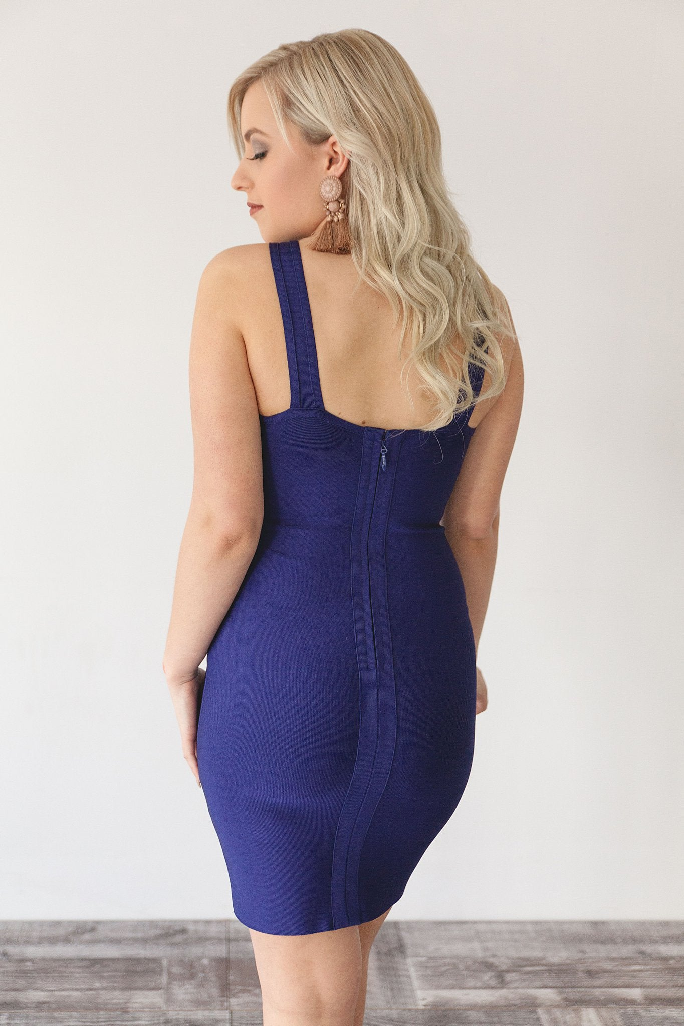 VERA DRESS | BLUE