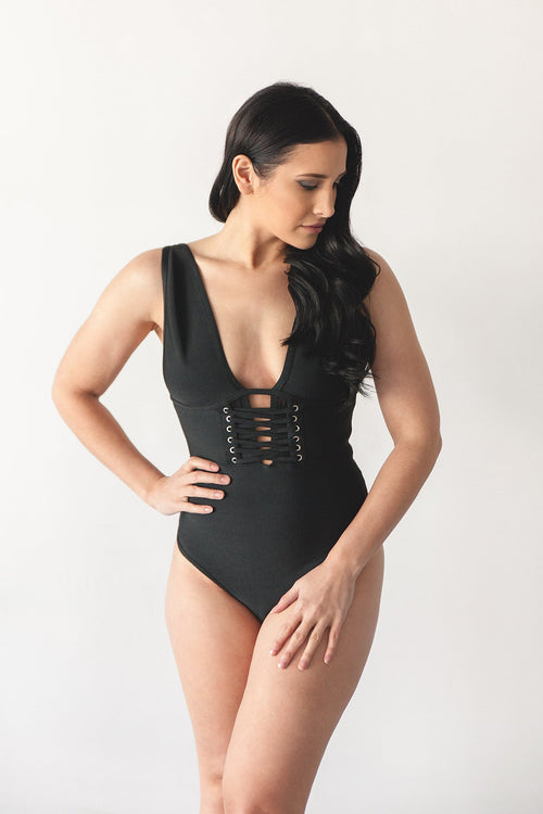 SIENNA BODYSUIT | BLACK