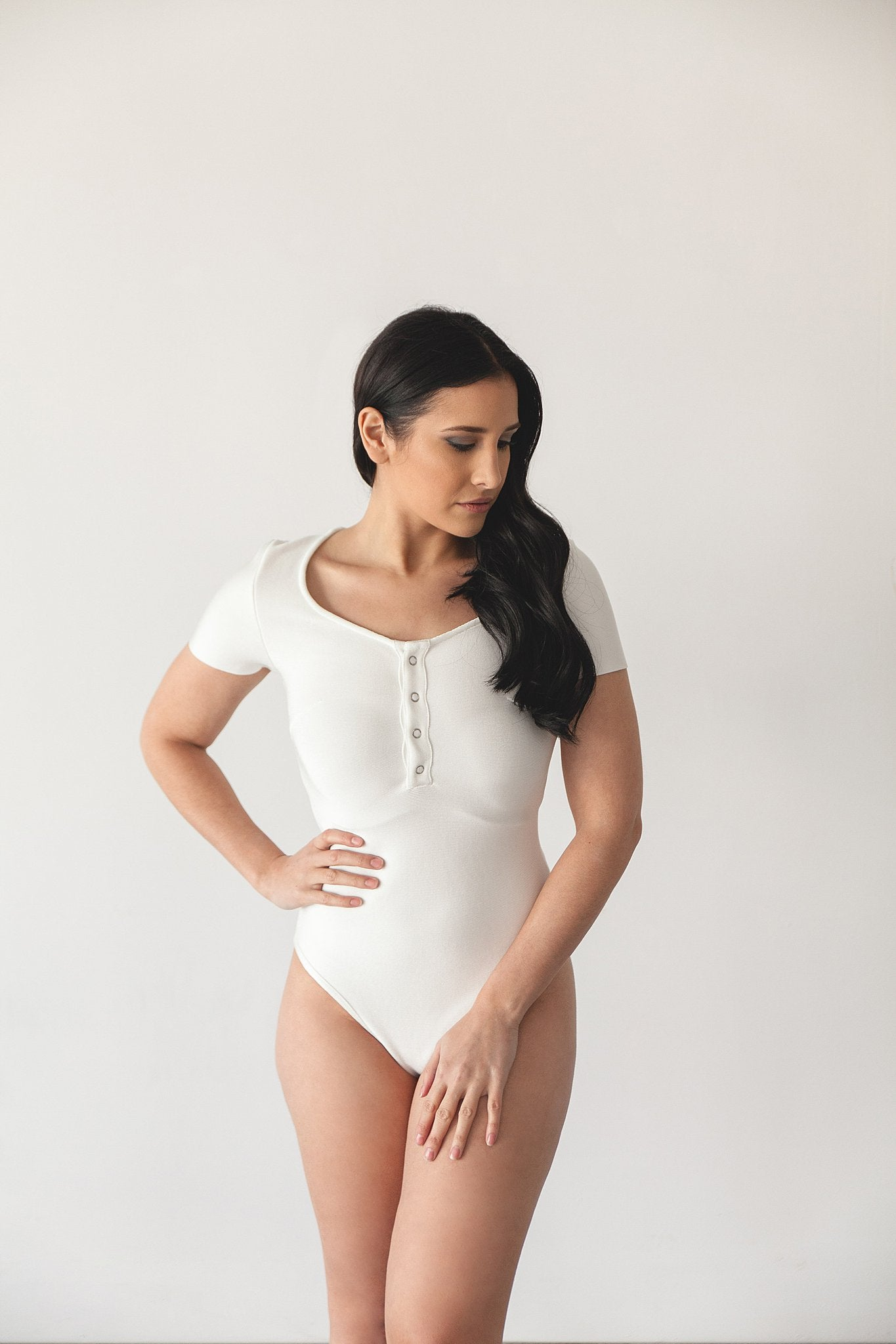 CLEO BODYSUIT | WHITE