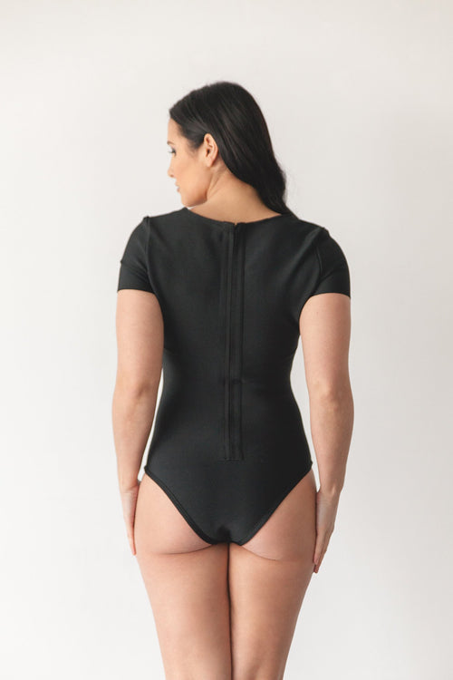 CLEO BODYSUIT | BLACK