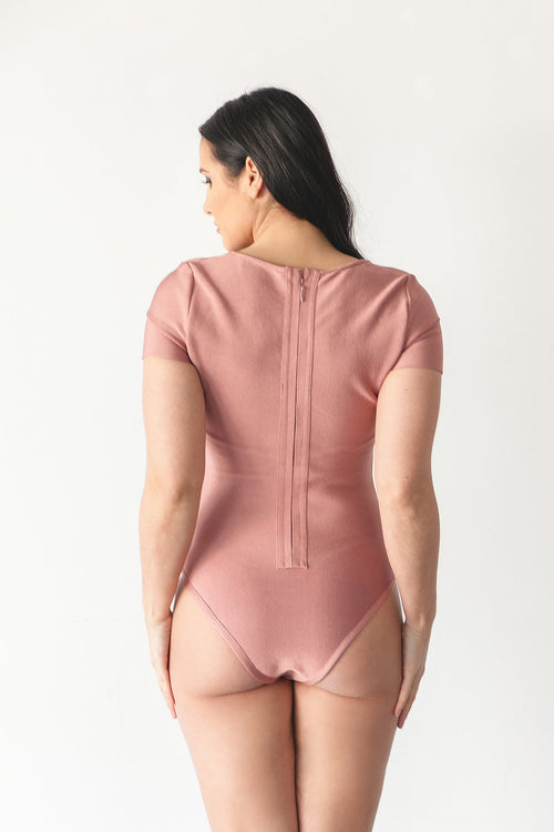 CLEO BODYSUIT | ROSE