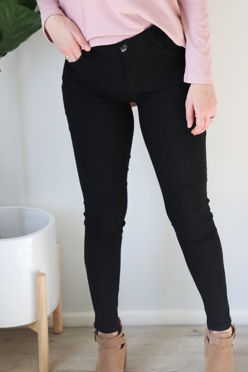SAMMY | BLACK JEGGINGS