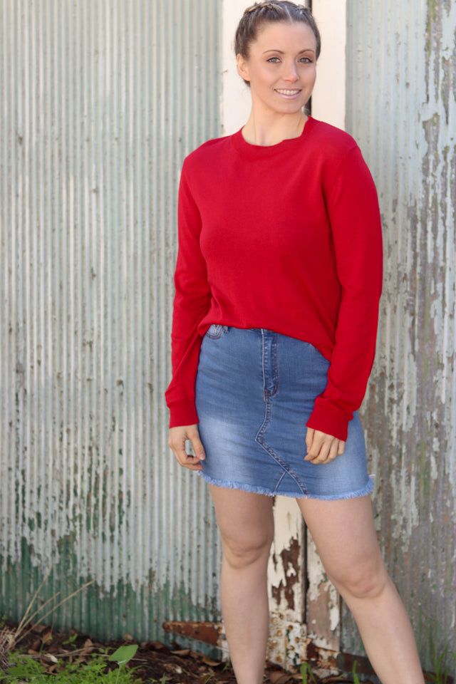 ELLIE KNIT | RED