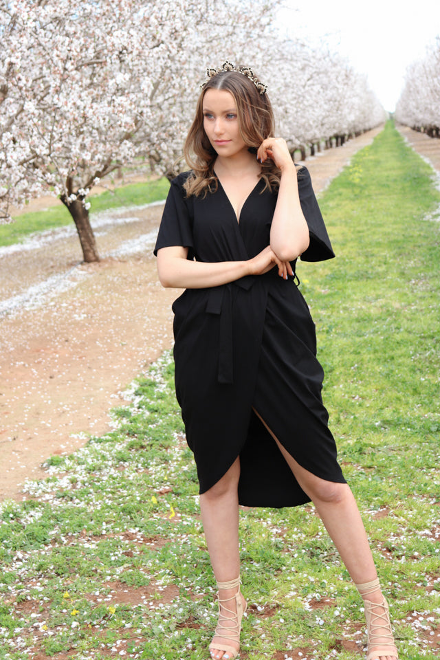 PENELOPE DRESS | BLACK