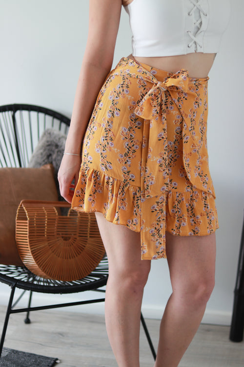 PRIM SKIRT | YELLOW