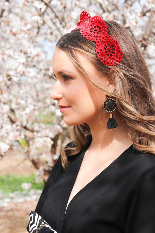 DOLCE HEADBAND | RED