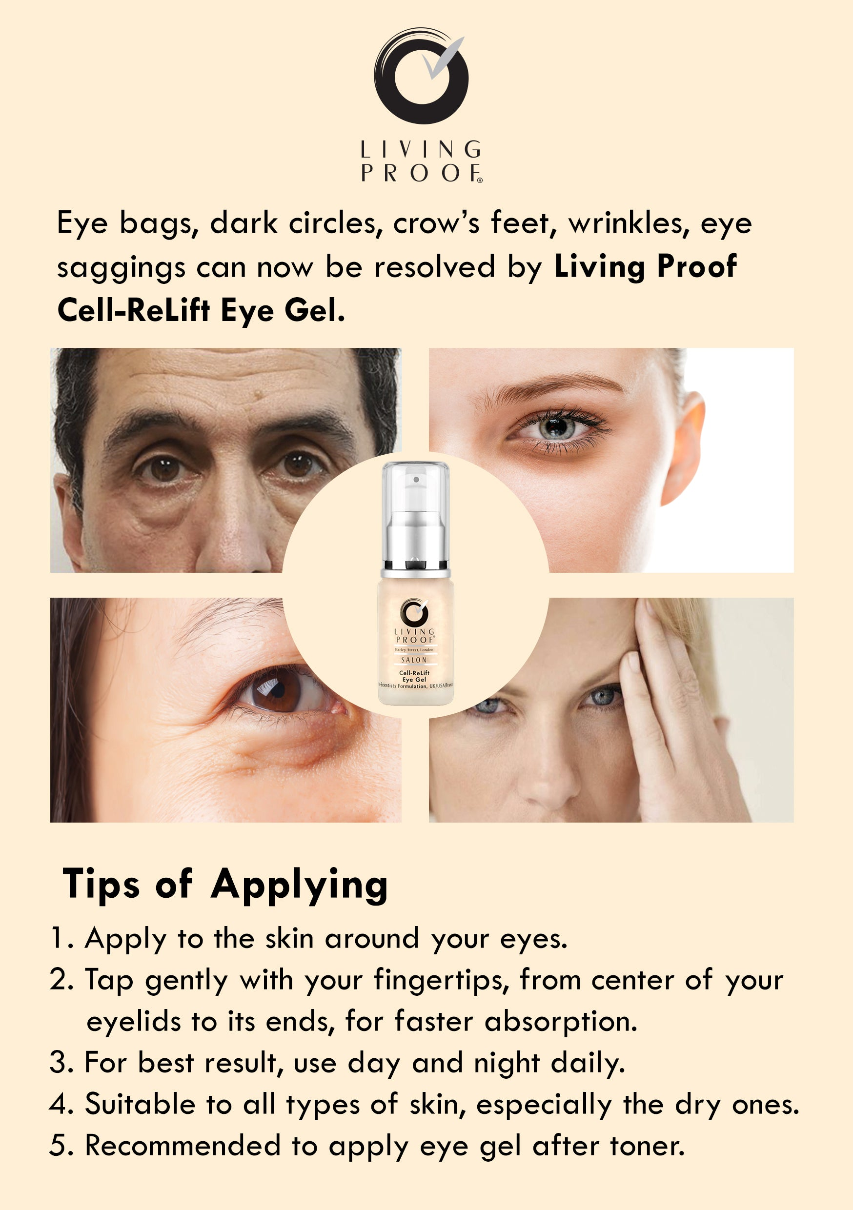 Cell Relift Eye Gel 20ml