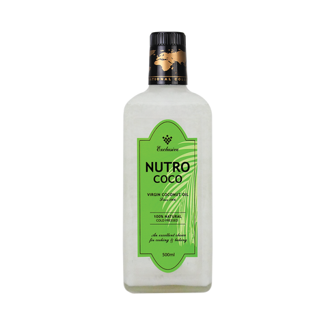 NutroCoco Virgin Coconut Oil 500ml Twin pack - Living Proof