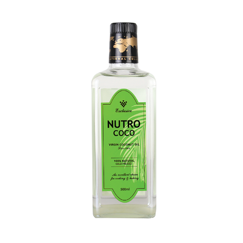 NutroCoco Virgin Coconut Oil 500ml Twin pack