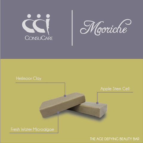 Mooriche The Age Defying Beauty Bar 25g x 4 pieces Facial Soap