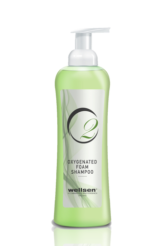 wellsen O2 Oxygenated Foam Shampoo 750ml - Living Proof