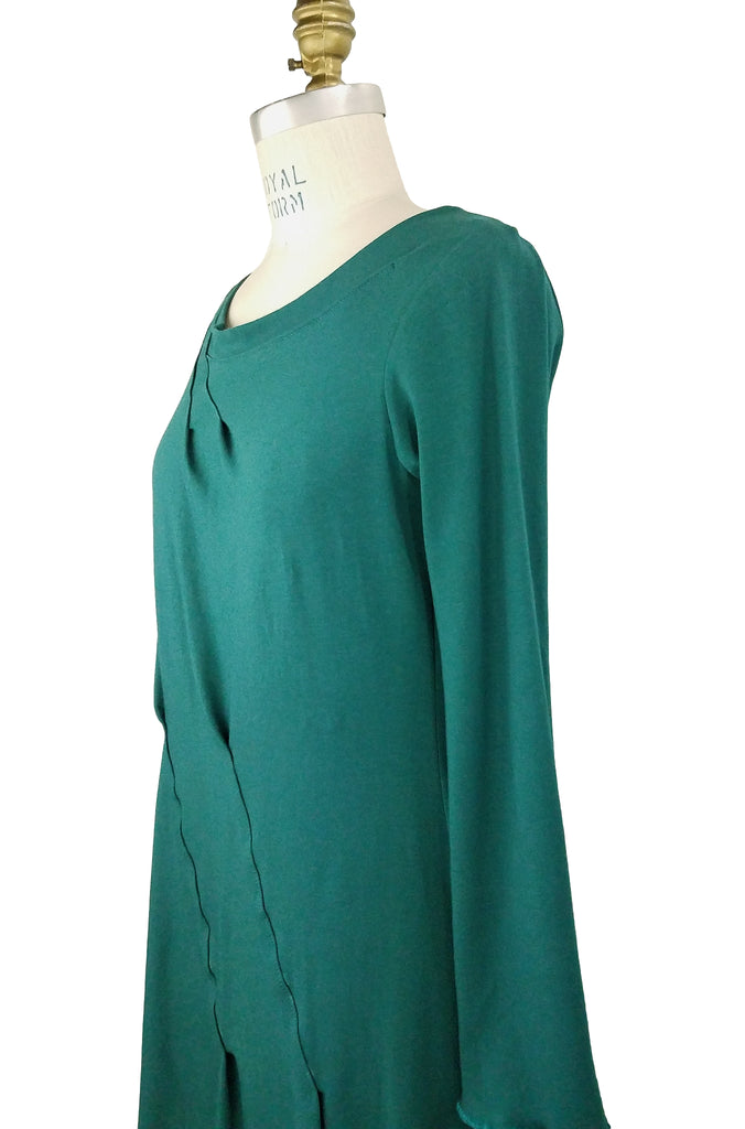 Cinderloop Roam tunic in jade side