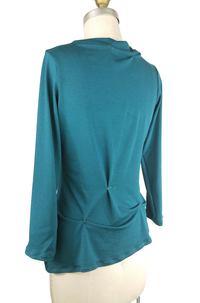 Cinderloop Funnel Neck top back