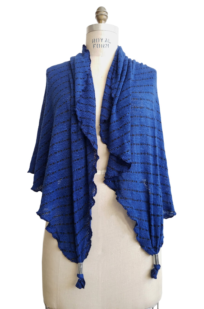 cinderloop wrap, royal blue color