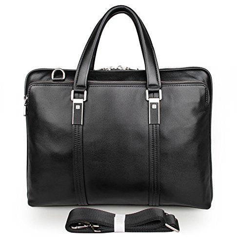 15″ Leather Briefcase – 7326A - Jason Gerald