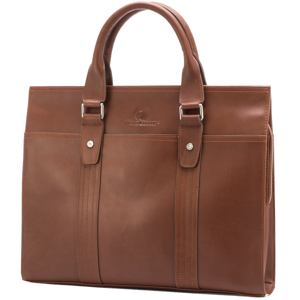 14.5″ Leather Briefcase – 7179B - Jason Gerald