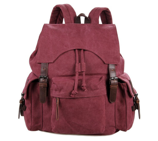"12"" Canvas Backpack - 9017P - Jason Gerald"