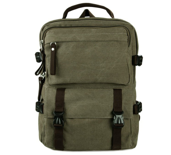 12″ Canvas Backpack – 9018N - Jason Gerald
