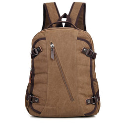 12″ Canvas Backpack – 9037C - Jason Gerald