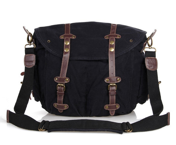 13.4″ Canvas Messenger Bag – 9006A - Jason Gerald