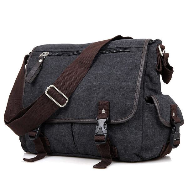 13″ Canvas Messenger Bag – 9035A - Jason Gerald