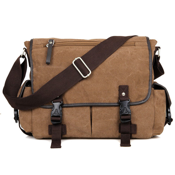 13″ Canvas Messenger Bag – 9035C - Jason Gerald