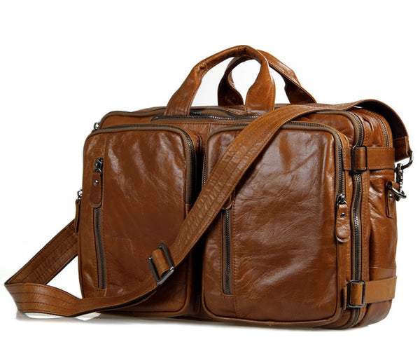 "15"" BRIEFCASE/BACKPACK - 7014B - Jason Gerald"