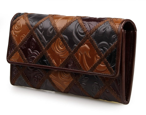 Leather Clutch – 8096-3C - Jason Gerald