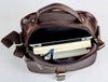 "10"" Leather Messenger Bag - 7141Q - Jason Gerald"