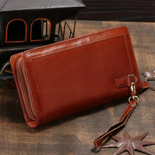 The Kara Leather Purse