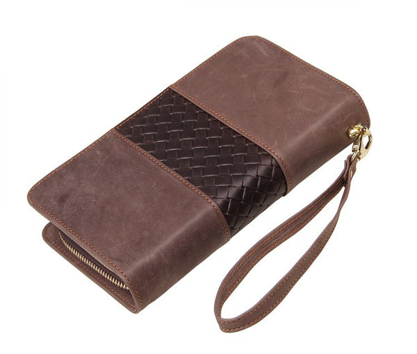The Michele  - Brown Leather Purse