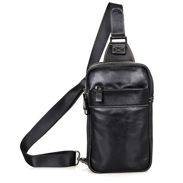 "5.7"" Leather Sling Bag - 4002A - Jason Gerald"