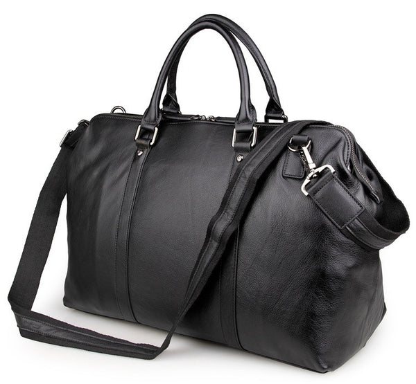 "18"" Leather Travel Bag - 7322A - Jason Gerald"
