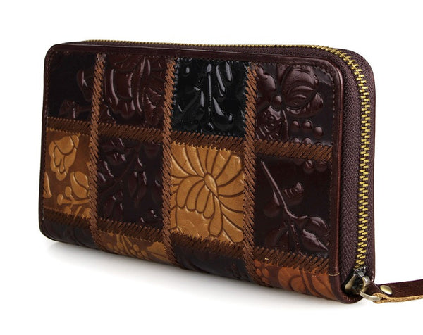 Leather Clutch - 8091-2C - Jason Gerald