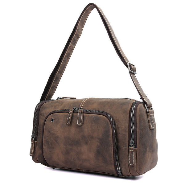 14.2 Leather Messenger Bag - 1020R - Jason Gerald