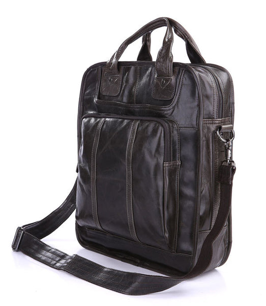 "13"" Leather Backpack - 7168J - Jason Gerald"