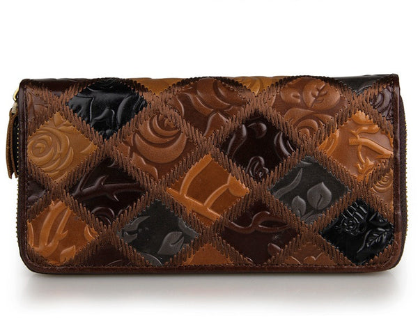 Leather Clutch Purse – 8091-3C - Jason Gerald